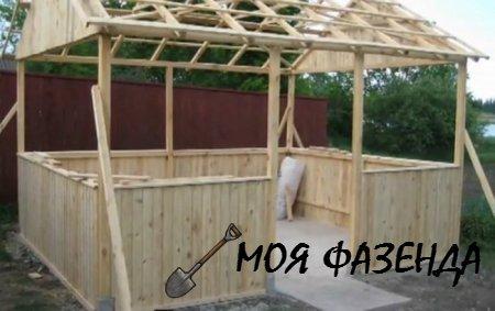 Как построить деревянную беседку для дачи своими руками: пошаговая инструкция.