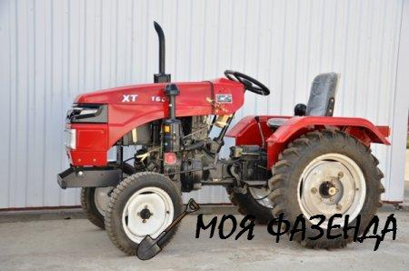 Мини-трактор Cинтай 180 маленький помощник в больших делах