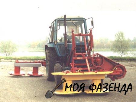 Обзор роторных косилок для тракторов МТЗ