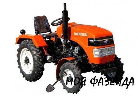 Все чем хороши мини-трактора серии Уралец