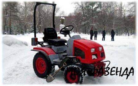 Мини-трактор КМЗ-012 коротко о главном