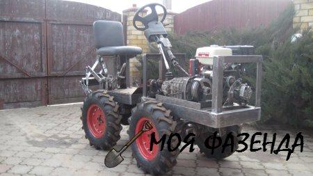 Собираем мини-трактор своими руками советы начинающему фермеру