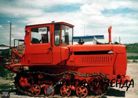 Гусеничный трактор ДТ-75 - многофункциональный помощник