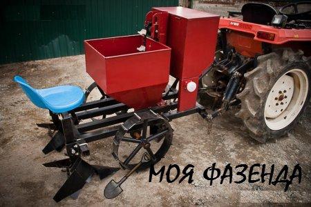 Самодельные картофелекопалки и сажатели для трактора Т-25