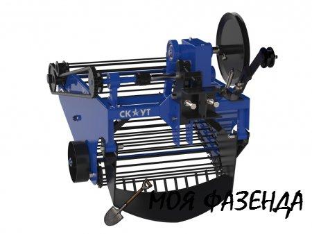 Обзор популярных моделей картофелекопалок и картофелесажалок для мини-трактора
