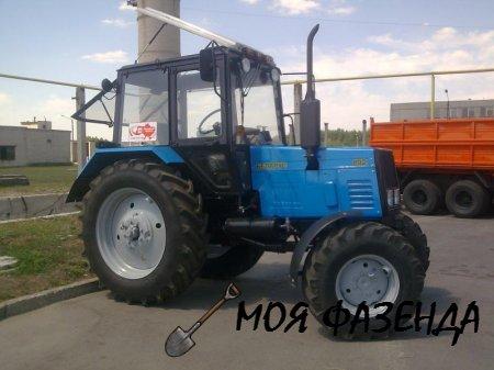 Область применение и технические особенности трактора Беларус модели МТЗ-892