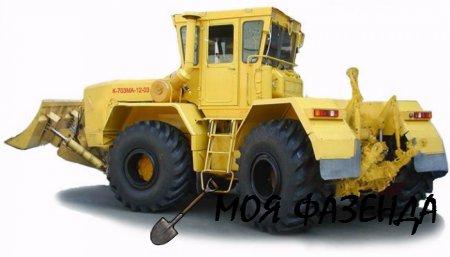 Колесный трактор Кировец К-700 важное из биографии трактора-богатыря