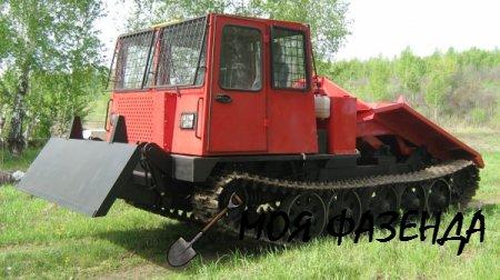 Трелевочный трактор ТТ-4 алтайский лесник