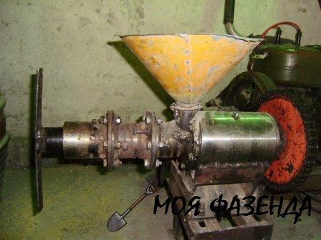 Самодельный экструдер для кормов пошаговая инструкция
